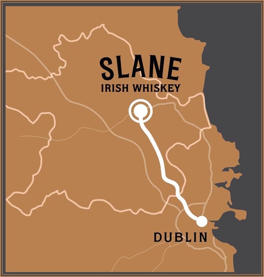 Location - Slane Irish Whiskey